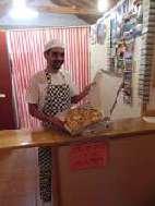 Echte italienische Pizza im Take away in Cedros/Insel Faial