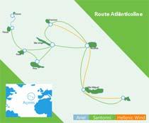 Die Schiffe der Atlanticoline verbinden alle 9 Inseln der Azoren untereinander.