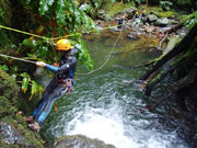 Canyoning auf Sao Miguel wird immer beliebter. Insel Sao Miguel/Azoren