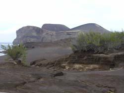Neues Land entstand 1958 auf Faial: Capelinhos, Faial/Azoren