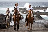 Reiten mit Patio Trekking a Cavalo auf der Insel Faial/Azoren