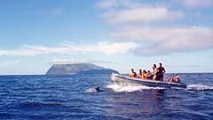 Mit dem Boot von der Azoreninsel Flores nach Corvo